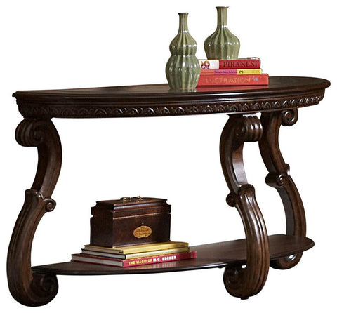 Cavendish Sofa Table in Warm Cherry