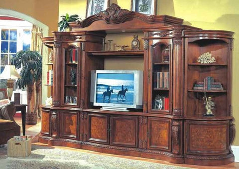 McFerran Home Furnishing - 7 Piece Entertainment Set