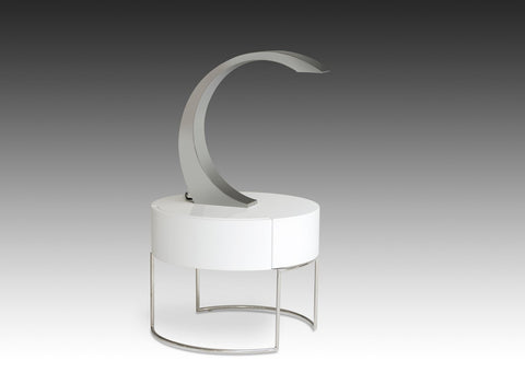 Modrest VIG004 Modern Stainless Steel Table Lamp