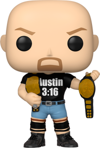 Stone Cold Steve Austin with Austin 3:16 Shirt