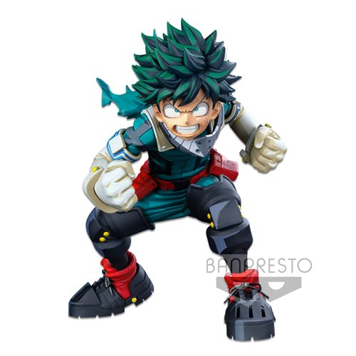 My Hero Academia Izuku Midoriya World Figure Colosseum Modeling Academy Super Master Stars Piece Dimensions (February 2021)
