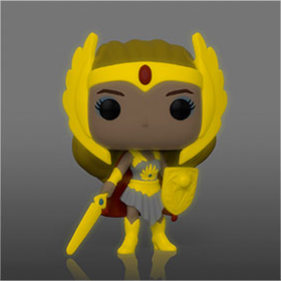 Masters of the Universe She-Ra Classic Gold (GITD)