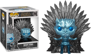Game of Thrones - Night King on Throne Metallic Deluxe - Dragon eye gaming