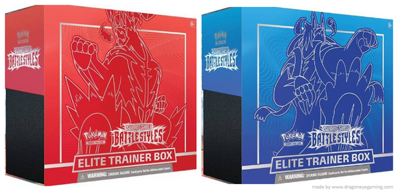 Pokemon: SS5 Battle Style Elite Trainer Box (Mar 2021)