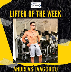 Lifter of the Week - Andreas Evagorou