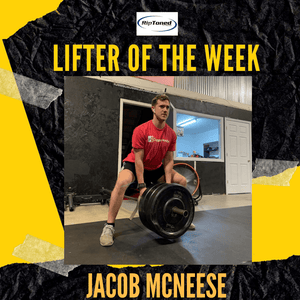 Lifter of the Week - Jacob McNeese