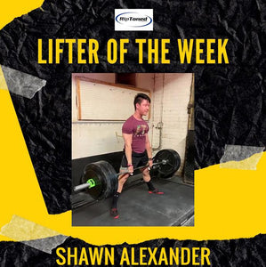 Lifter of the Week - Shawn Alexander