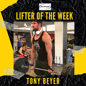 Lifter of the Week - Tony Beyer