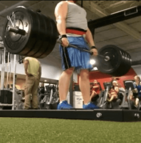 Nick Hoover 405lb Deadlift – Rip Toned Belt and Straps | Rip Toned