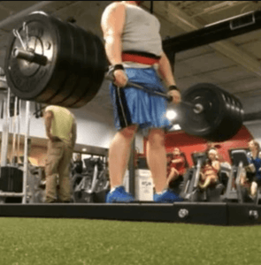 Nick Hoover 405lb Deadlift – Rip Toned Belt and Straps