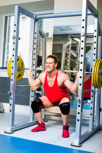 squats weight lifter knee sleeves