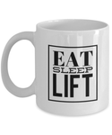 Eat Sleep Lift - Rip Toned