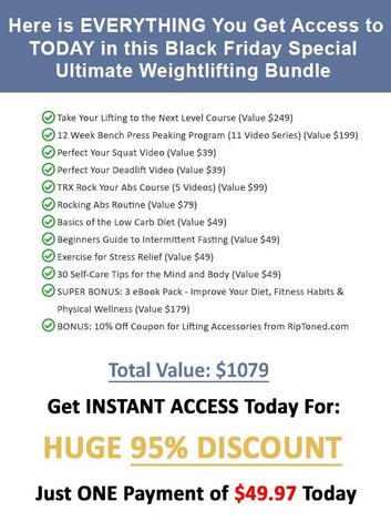 Ultimate Black Friday Lifting Bundle - Rip Toned