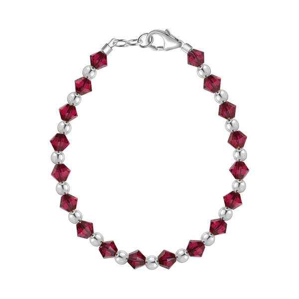 Birthstone Collection - July Bracelets