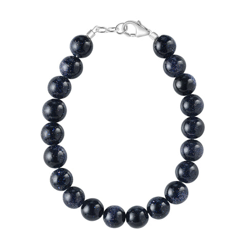 Midnight Sparkle 6mm Bracelet