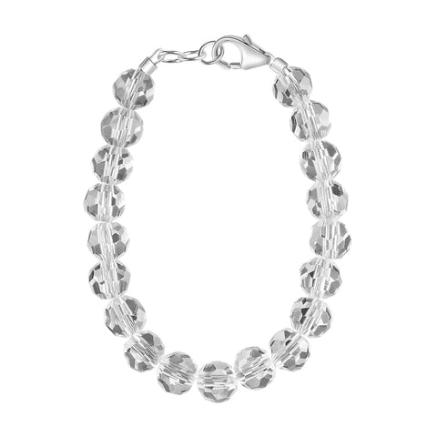 Clear Crystal 6mm Bracelet