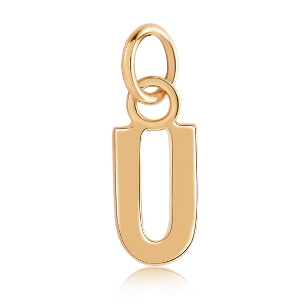 14k Gold Initial Charms