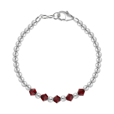 Birthstone Collection - January Bracelets