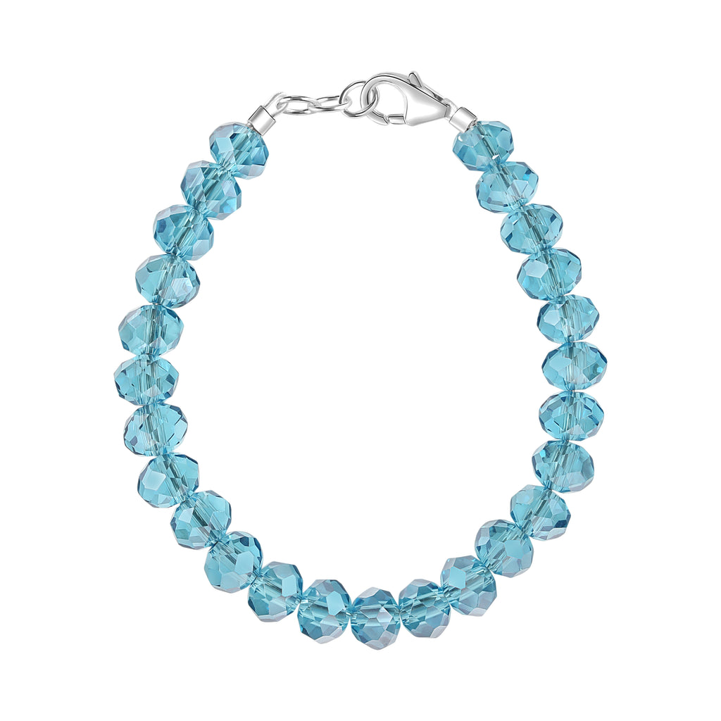 Frozen Blue 5mm Bracelet