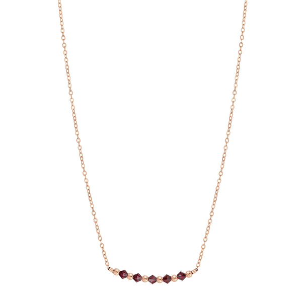 Birthstone Collection - January Necklaces