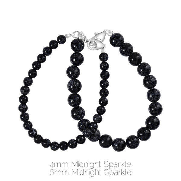 Midnight Sparkle 4mm Bracelet