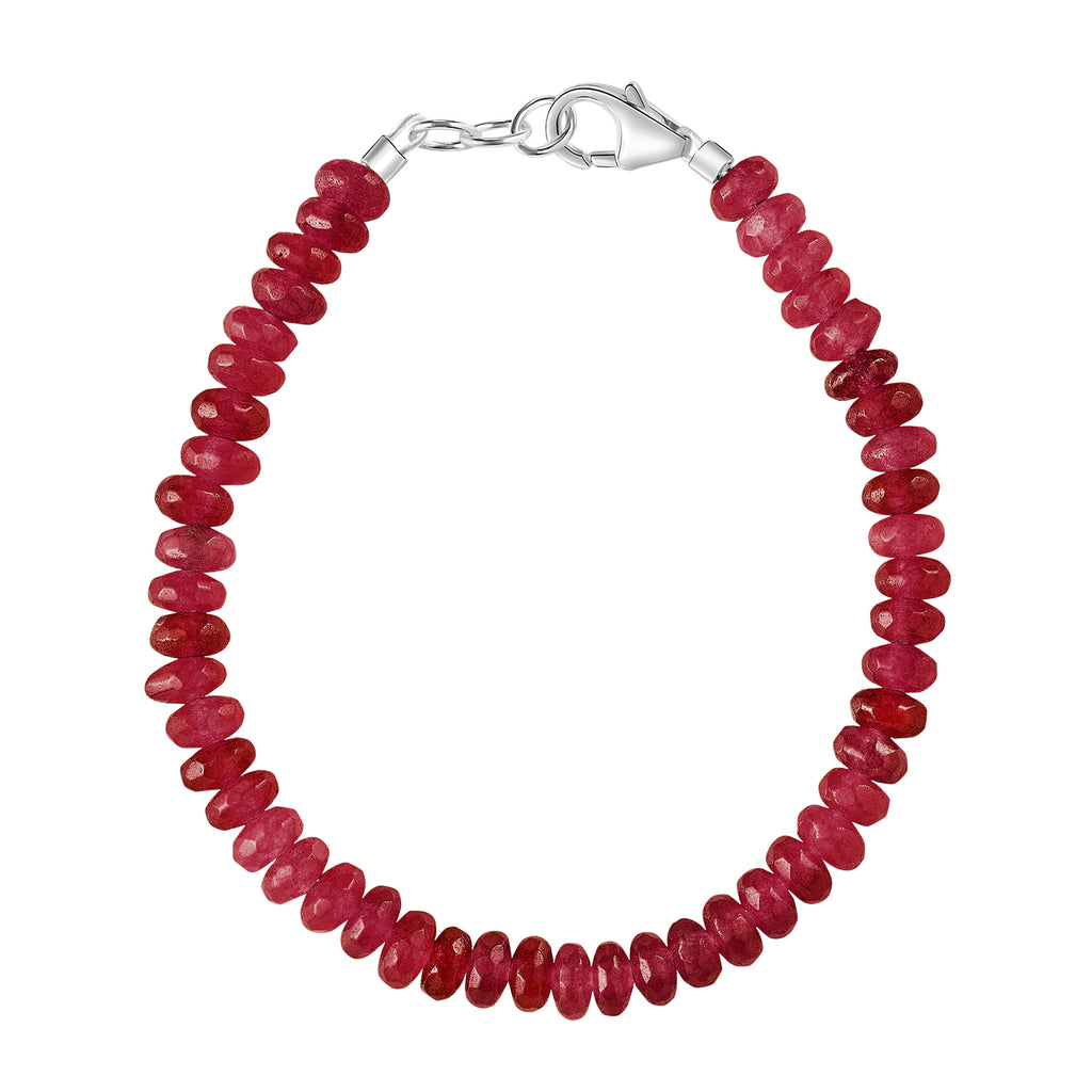 Tiger's Blood Red 3mm Bracelet