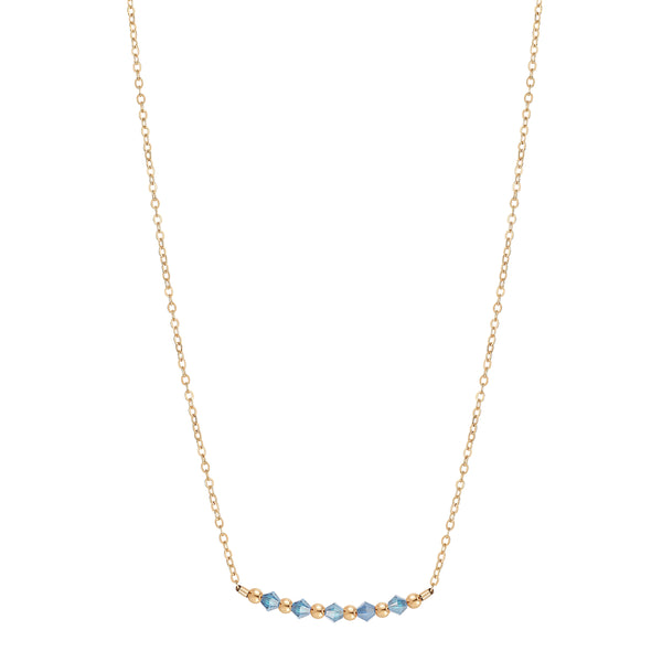 Birthstone Collection - March Necklaces