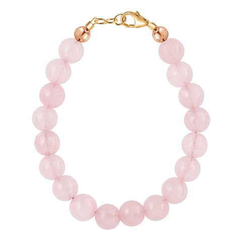 Rose Quartz 6mm Bracelet