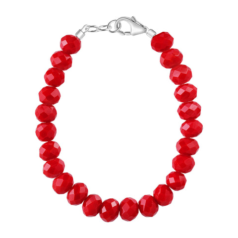 Cherry Red 5mm Bracelet