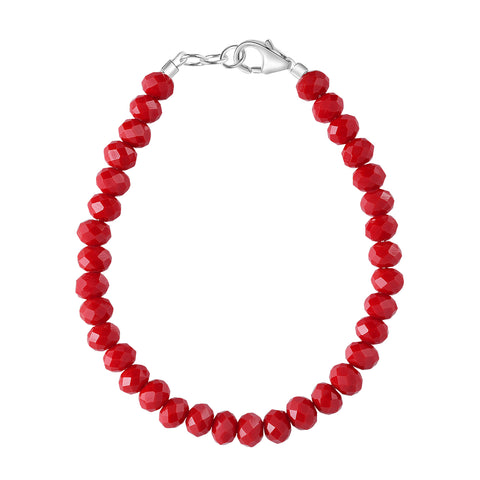 Cherry Red 4mm Bracelet