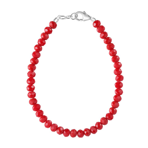 Cherry Red 3mm Bracelet