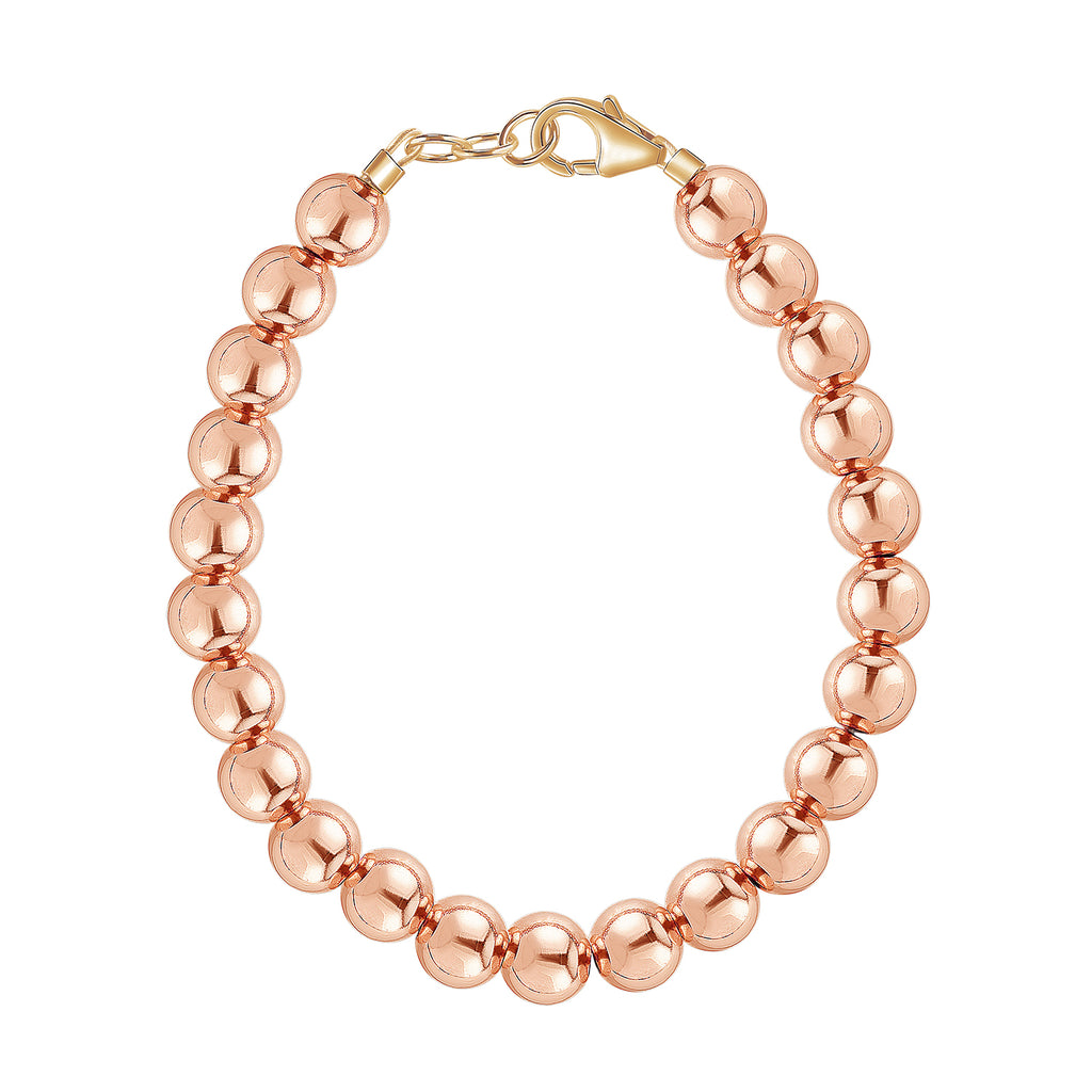14k Rose Gold 5mm Bracelet