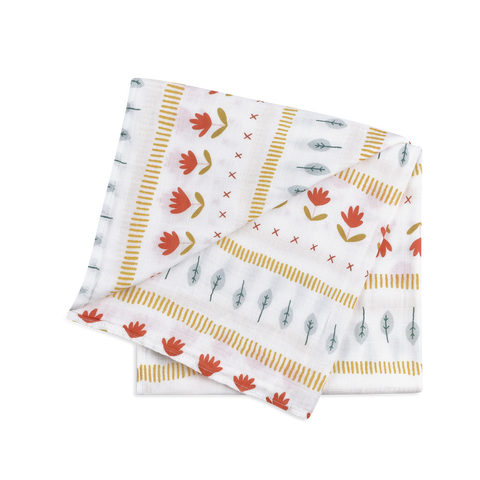 The Woodland - Organic Bamboo Swaddle