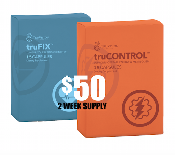 2 Week Supply of TruVision Weight Loss Combo - Newest Enhanced Version