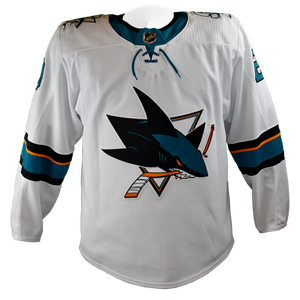 Game Used Pro Sharks Jersey - Marcus Sorensen