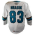 Game Used Pro Barracuda White Jersey-Kyrstof Hrabik #83