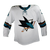 Game Used White Pro Sharks Jersey - Dylan DeMelo #74