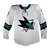 Game Used Pro Sharks White Jersey - Dylan Gambrell