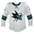 Game Used Pro White Sharks Jersey - Dylan Gambrell #7