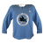 Slightly Worn Sharks Pro Stock Practice Jersey Light Blue