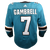 Adidas Game Used Pro Sharks Teal Jersey - Dylan Gambrell