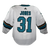 Game Used Pro White Sharks Jersey - Martin Jones #31
