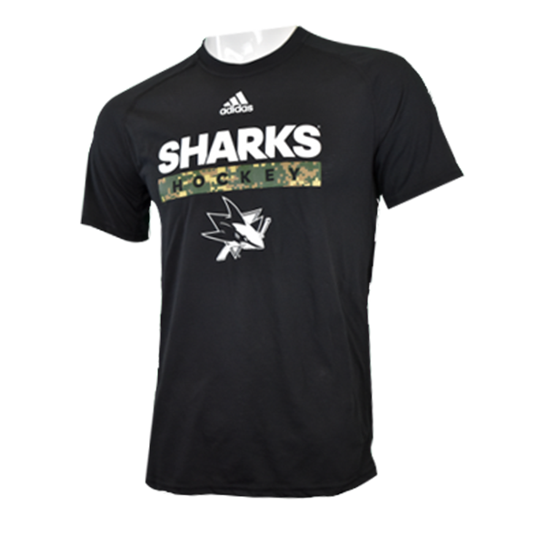 Adidas Sharks Ultimate Tee Camo Shirt