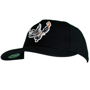 Barracuda Black Fitted Hat