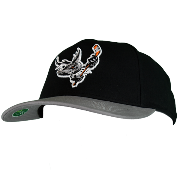 Barracuda Black/Grey Fitted Hat