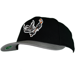 Barracuda Black/Gray Flex Fit Hat