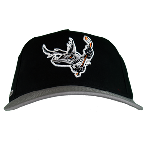 Barracuda Black/Grey Flex Fit Hat
