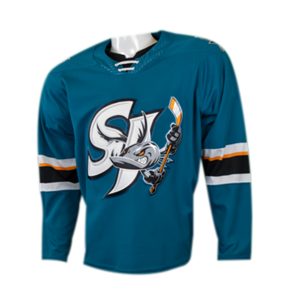 CCM Replica Teal Barracuda Jersey