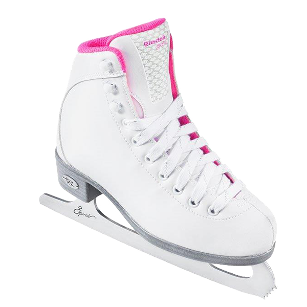 Riedell 18 Sparkle Girls Figure Skate
