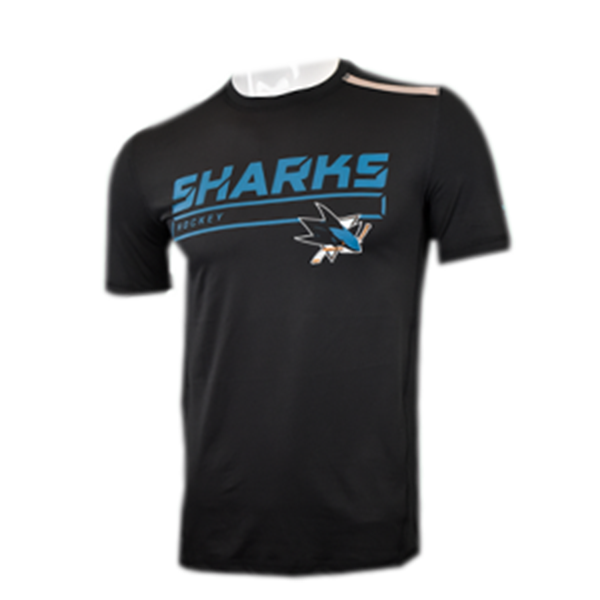 Fanatics Sharks AP Clutch Short Sleeve Shirt